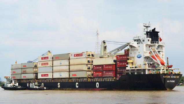 Lịch tàu Container của VINALINES 04.05.2018